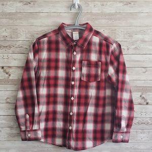 Gymboree Boy's Button Down Long Sleeve Shirt